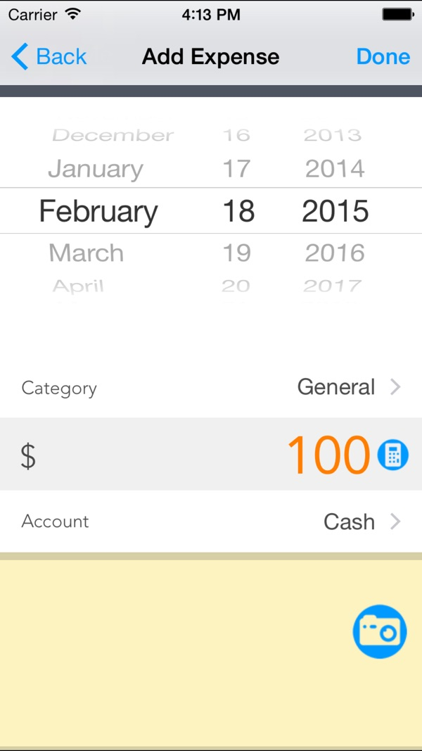 Expense Manager - Pocket Edition on the App Store