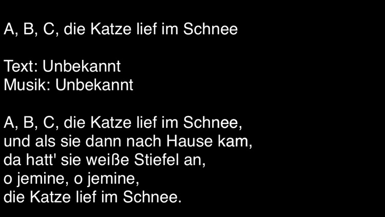 Liederbuch - Kinderlieder und Volkslieder screenshot-4