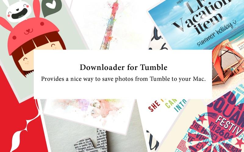 Downloader for Tumble Screenshot - 1