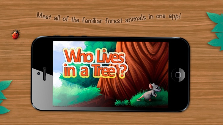 Who Lives in a Tree? An Interactive Children's Mini-Encyclopedia. screenshot-0