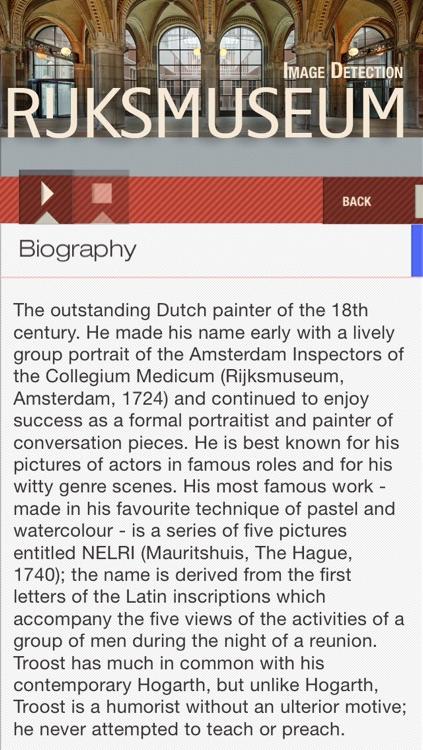 Rijksmuseum Amsterdam ID audio guide screenshot-3