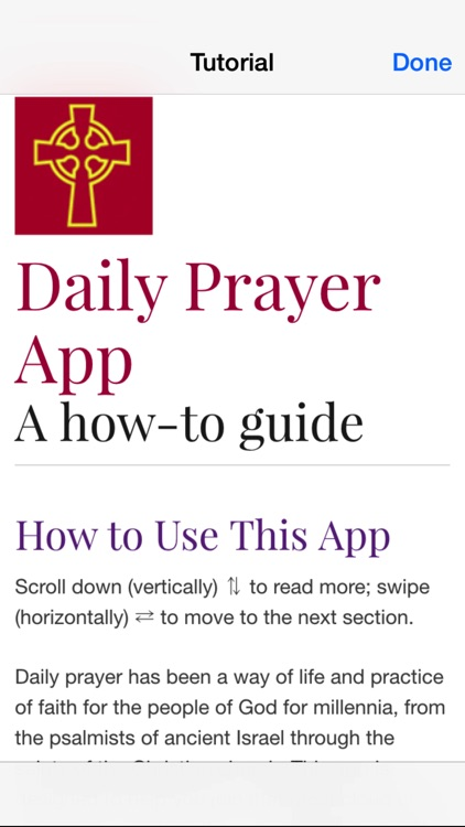 Daily Prayer PC(USA) screenshot-3