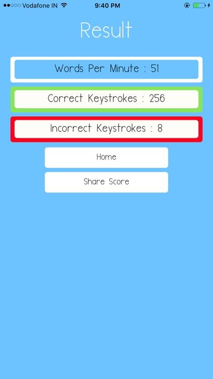 Speed Master : Typing Test screenshot-3