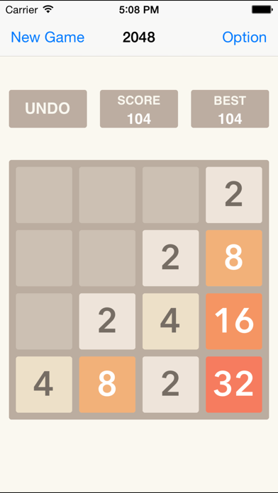 2048 UNDO Plus, Number Puzzle Game Free HD-0