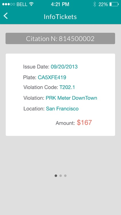 infoTickets - Find your traffic tickets with your license plate number
