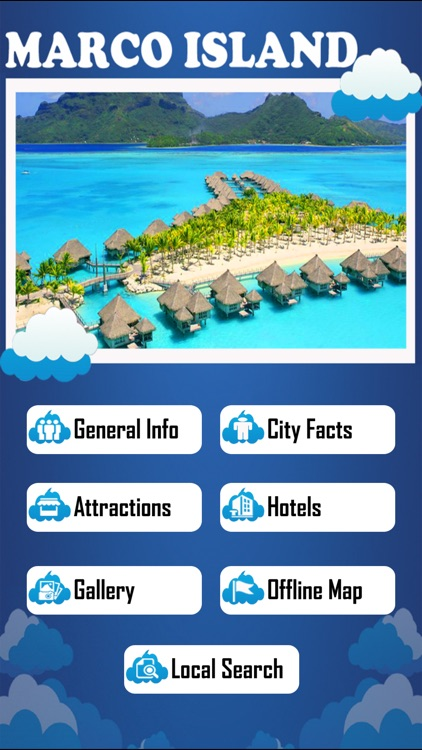 Marco Island Offline Map Tourism Guide