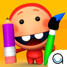 Kidfinity Pots & Paints: Paint, Sketch, Doodle & Coloring Book for Kids in Preschool & Kindergarten FREE