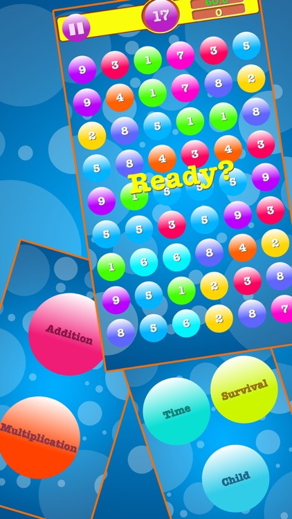 Addition & Multiplication Number Bubbles screenshot-3
