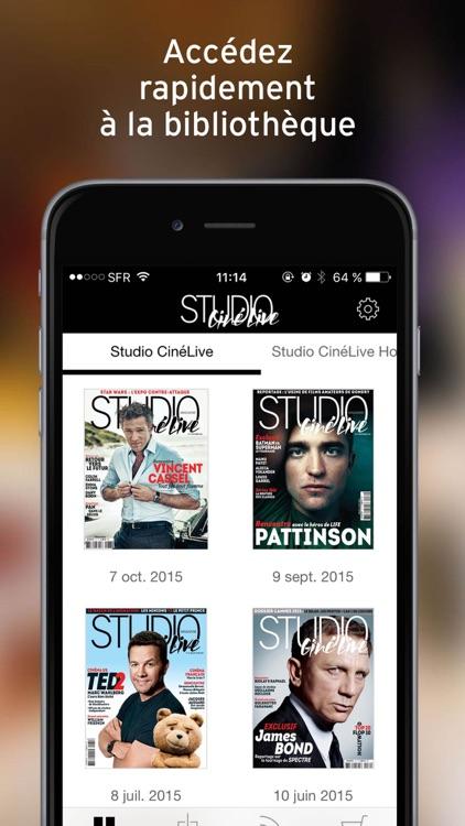 Studio Ciné Live - Magazine : Toute l'actu du cinéma. screenshot-4