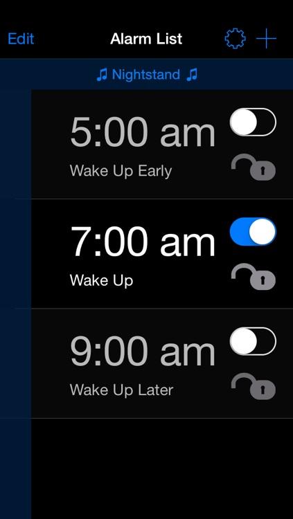 Mathe Alarm Clock - Black Edition