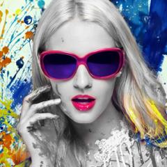 Pic Color Effects - Photo Splash Modifier: Black & White, Selective Grayscale plus Recolor FX