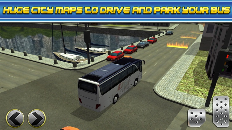 3D Bus Driver Simulator Car Parking Game - Real Monster Truck Driving Test Park Sim Racing Games screenshot-4
