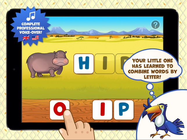 Zoo Playground - Educational games with animated animals for kids Screenshot