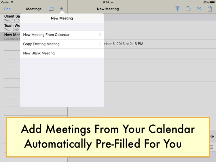 Meeting Notepad screenshot-0
