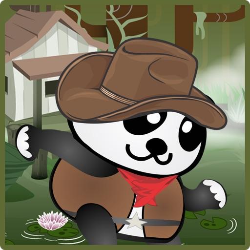 Panda Adventures - Run across the forrest - Free Kid Game iOS App