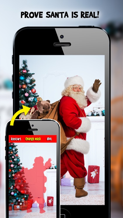 Snap Santa Editor Booth 2014 - Easily Create Fun Photo Proof Father Christmas is Real!