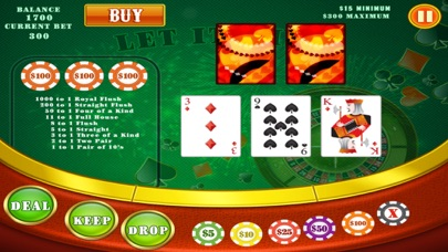 777 Let it Win & Play Lucky Classic Blitz Cards Game - Hit the Jackpot Casino Free screenshot three