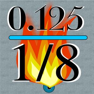 Decimal to Fraction Converter & Calculator app