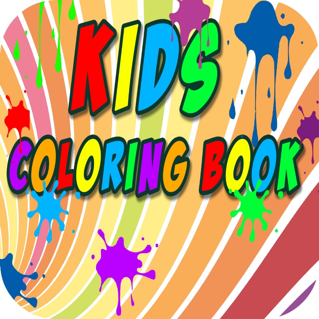 Kids Coloring Book - Learning Fun Educational Book App!
