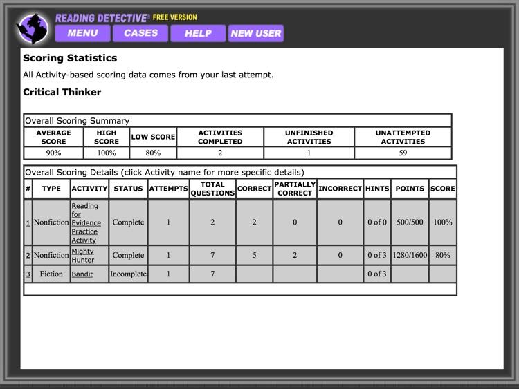 Reading Detective® Beginning (Free) screenshot-4