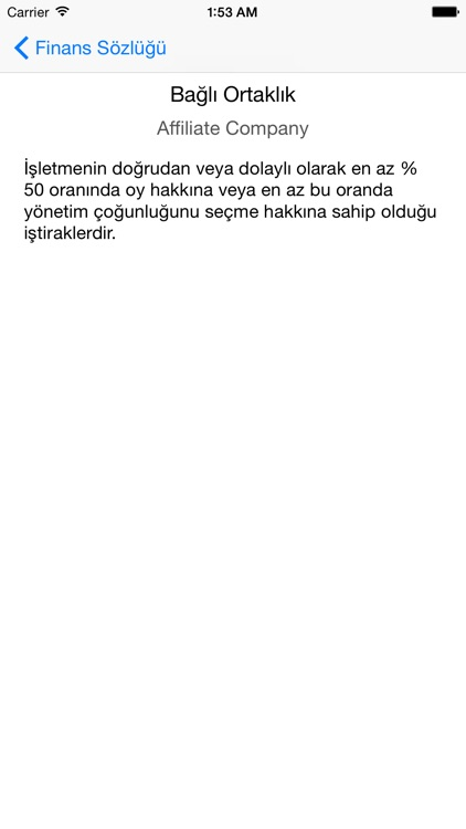Finans Sözlüğü screenshot-4