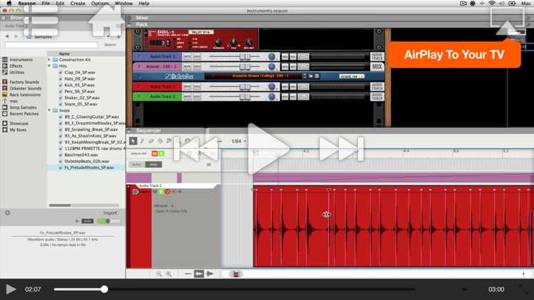 Audio Recording & Editing For Reason