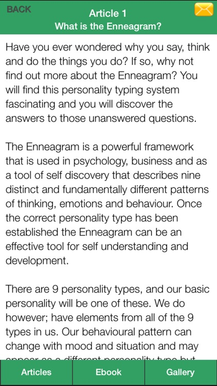 Enneagram Types Guide - Discovering Your Personality Type ! screenshot-4