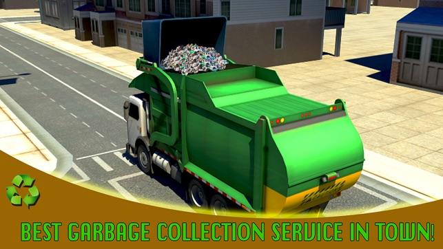 ville simulateur de camion ordures dans l app store. Black Bedroom Furniture Sets. Home Design Ideas