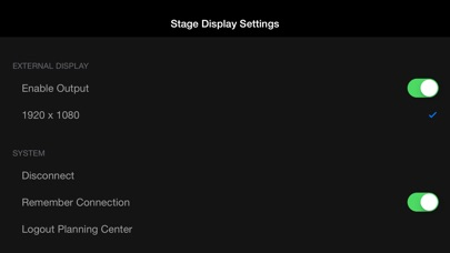 Propresenter Stage Display review screenshots