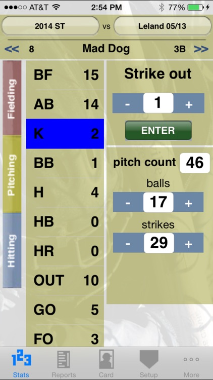 StatCatcher™ Baseball (Player Edition) screenshot-1