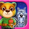 Teddy Bear Police and Naughty Wolf - Hero Rescue Game