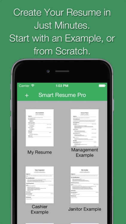 Smart Resume Pro screenshot-2