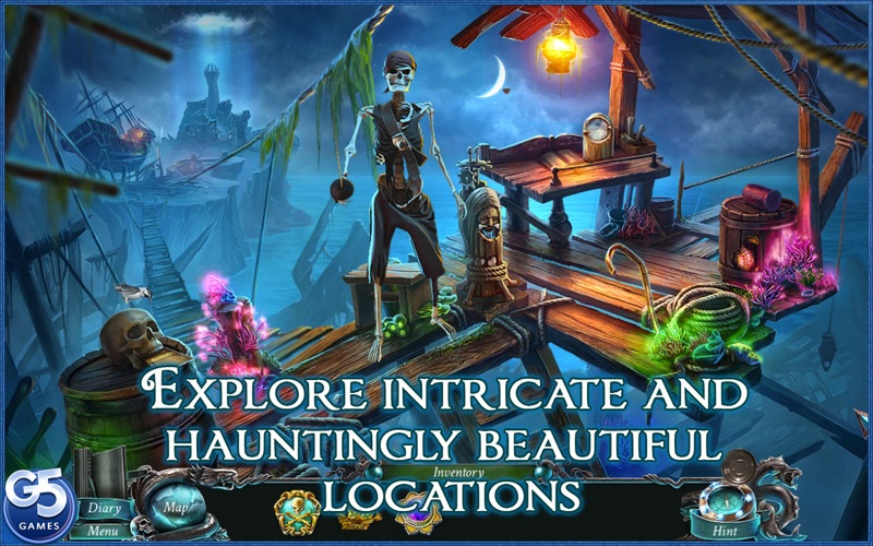 Nightmares from the Deep™: Davy Jones, Collector's Edition screenshot 2