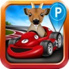 Goat Driving Car Parking Simulator - 3D Sim Racing & Dog Run Park Games! - iPhoneアプリ