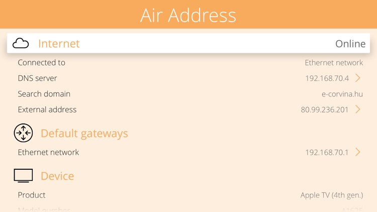 Air Address