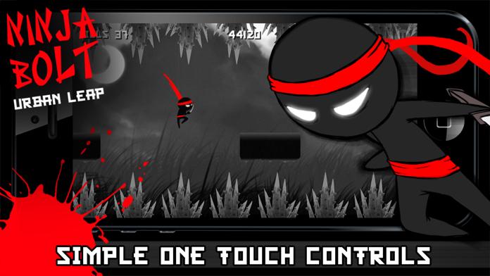 ` Ninja Bolt Urban Leap - Sprint, Slice, Dice, Run & Jump! Screenshot