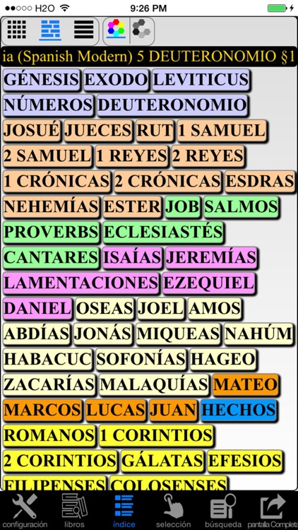 Español Santa Biblia (Spanish Modern Translation Bible) screenshot-3