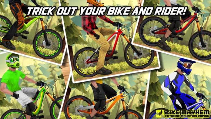 Bike Mayhem Mountain Racing Free by Best Free Games Screenshot