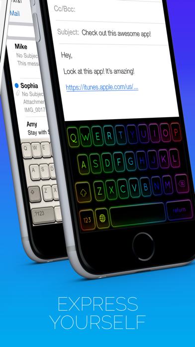 クールなキーボードのスクリーンショット2