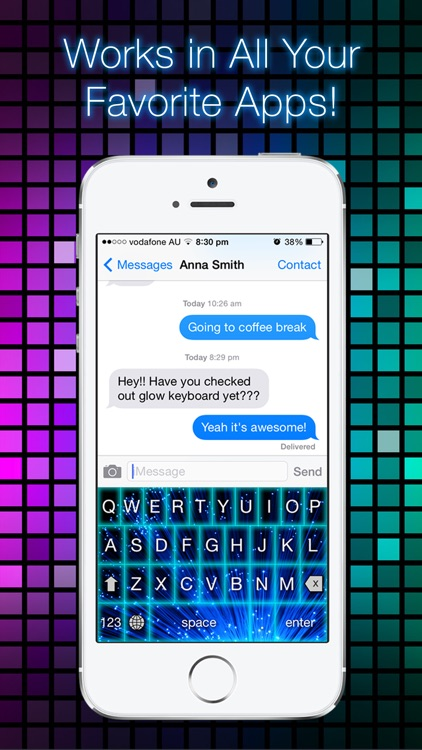 Glow Keyboard - Customize & Theme Your Keyboards screenshot-3