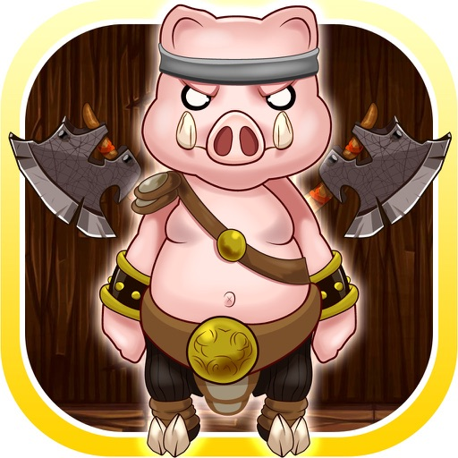Fox Fight The Pigs Hitting Game - Rolling Cannonball Escape (Premium)