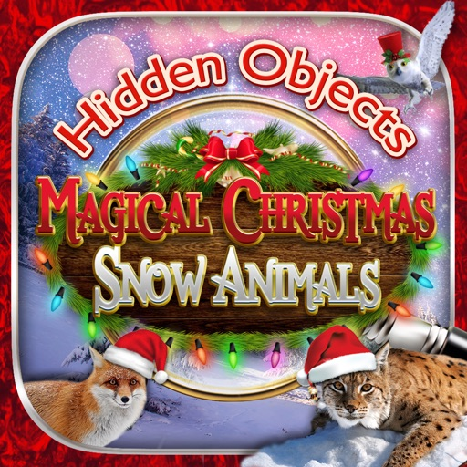 Hidden Objects Magical Christmas Snow Animals FREE