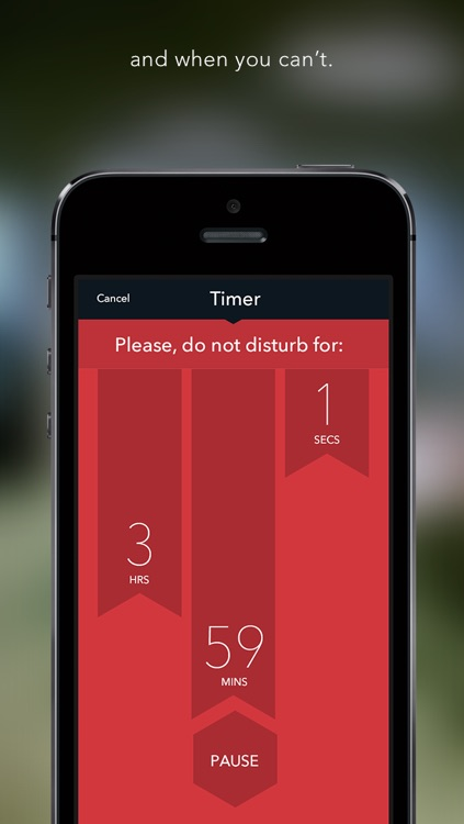 Bit Busy Now - Improve productivity with a digital Do Not Disturb sign