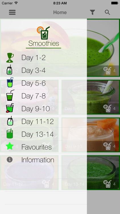 2 Week Raw Smoothie Challenge
