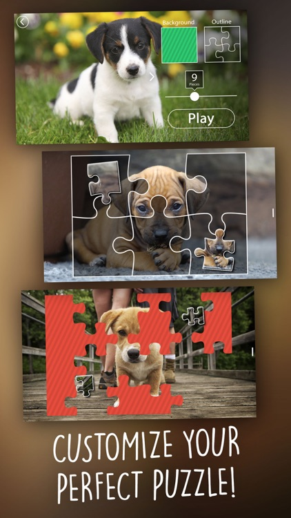 Jigsaw Wonder Puppies Puzzles for Kids