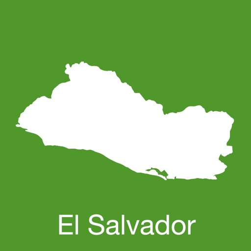 El Salvador GPS Map