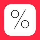 OnSale - calcolatrice percentuale, calcolatrice sconto per i saldi icon