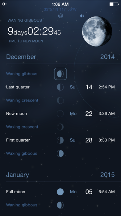 Moon Phases Deluxe - Full and New Moon Calendar på PC