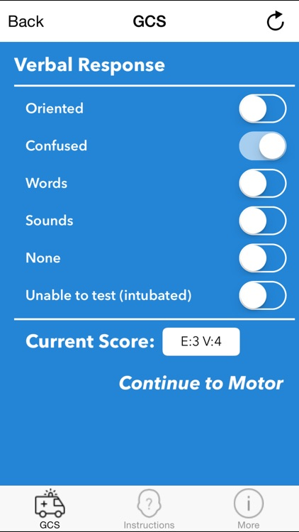 GCS 2015 - Glasgow Coma Scale Calculator