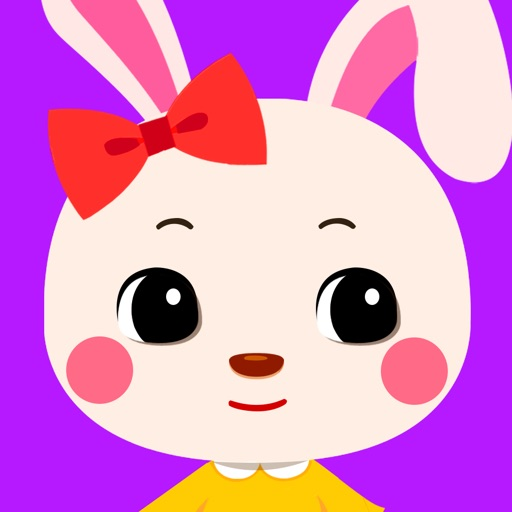 Face My Talking Bunny AA: Virtual Doll Makeover Salon Center - Kids Free Game